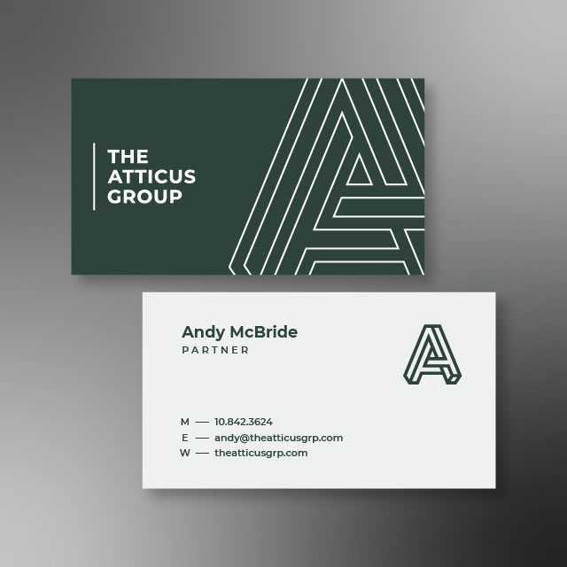 The Atticus Group Business Card